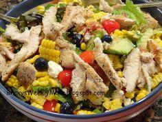 Your Weekly Dinner Menu: Summer Dinner Salad