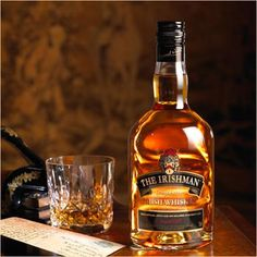 Walsh Whiskey Distillery has agreed an exclusive deal with Illva Saronno to distribute two of the firm's Irish whiskeys in Italy – The Irishman Single Malt and The Irishman Founder's Reserve Whiskey Distillery, Whisky, Irish Whiskey, Irish Men, Whiskey Bottle, Alcohol, Drinks, Food, Cigars