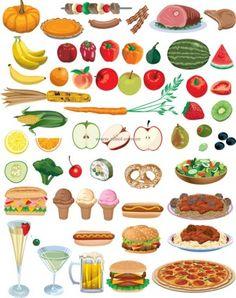 kinderen leren gezond en ongezond eten gezond