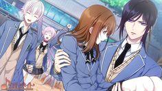 Konohana Saya & Yatogami Kuroh | 学園K ~Wonderful School Days~ #otomegame