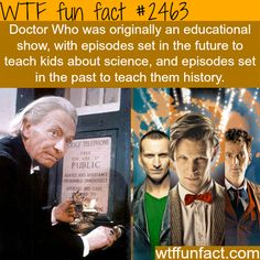 Doctor Who - WTF Facts : funny, interesting & weird facts