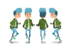 animation 80s pixel sprite gamedev
