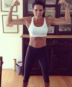 angie harmon = FIT