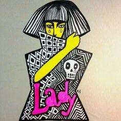 Milady Gaga dress stamp