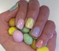 pretty Easter nail ideas