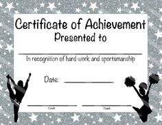 Free cheerleading printables best cheerleader printable awards cheerleading certificate cheerleading award cheerleading diy cheerleading printable cheerleading achievement end of season award yelopaper Image collections