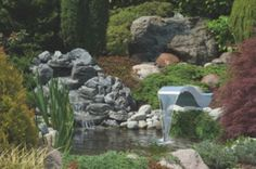 Golf Courses, Plants, Garden Architecture, Waterfall, Home Decor Accessories, Homes, Decorations, Plant, Planting