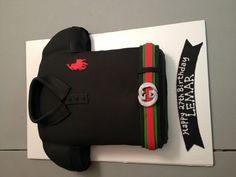 Do you still worry about the Christmas gift? Here can help you get the beat gift for you little girl. What are you waiting for? Happy 27th Birthday, Birthday Cakes For Men, Sons Birthday, Birthday Ideas, Fun Cupcakes, Cupcake Cakes, Polo Baby Shower, Gucci Cake, Shirt Cake