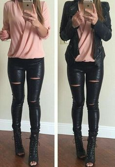 Like the top. I have a leather jacket so I don't need another. Hate the pants and shoes.