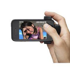 벨킨의 라이브액션 카메라그립입니다. 제가 또 돈을 들여 장만한 아이폰 장난감입니다. 이거 장착하면 아이폰이 완벽한 똑딱이로 바뀝니다. 강추. 근데 좀 비쌉니다.