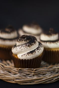 Cappuccino flavored cupcakes