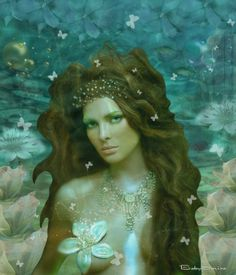 Beautiful Mermaid ❤ - made by BabySavira Mababe with Bazaart #collage