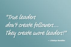 True leaders inspiration life coaching