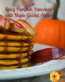 a Latte' with Ott, A: Spicy Pumpkin Pancakes with Maple Glazed Apples