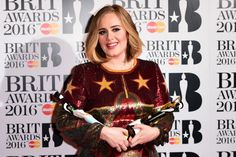 Adele - Brit Awards 2016
