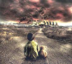 Não é esse o legado que se quer deixar às futuras gerações... Conte com nossa busca por locais para o descarte adequado em: www.ecycle.com.br/postos/reciclagem.php  www.eCycle.com.br Sua pegada mais leve.