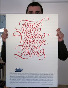 By Luca Barcellona - Calligraphy & Lettering Arts