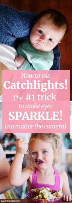 How to use catchlights! The #1 trick to make eyes sparkle no matter the camera!
