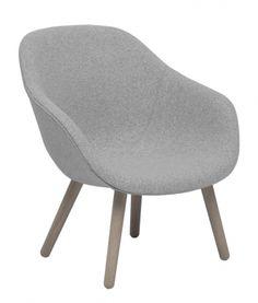 About a Lounge Chair Low Fåtölj | HAY | Länna Möbler | Handla online