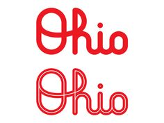 Ohio designed by Ethan Unzicker. Connect with them on Dribbble; the global community for designers and creative professionals. Ohio State Tattoos, Ohio State Logo, Ohio Tattoo, Ohio State Buckeyes, Buckeye Crafts, Faith Tattoo On Wrist, String Art Templates, Dragon Tattoo Back Piece, Silhouette Images
