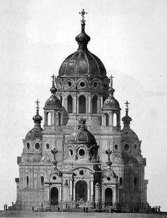 Historical Designs / Utopias / Monuments - Never built - Página 32 - SkyscraperCity