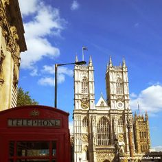Westminster Abbey & Red Phone Booth