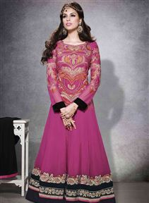 Party Wear Long Anarkali Dress