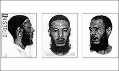 Lahcen Ikasrrien en su ficha policial al regresar de Guantánamo