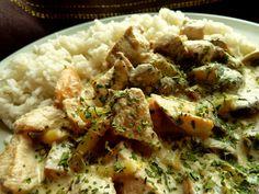 Pobite gary Barbary: dania mięsne -piersi z kurczaka