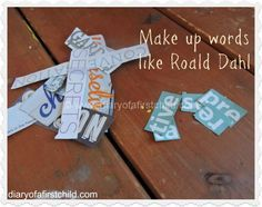 Make Up Words Like Roald Dahl   Diary of a First Child