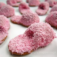 How to: Pink Fuzzy Slipper Cookies out of Nutter Butters     http://www.hungryhappenings.com/2011/05/how-to-make-pink-fuzzy-slipper-cookies.html