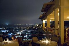 The Vista Grill, Puerto Vallarta, Mexico. Beautiful views overlooking the City. Great at sunset. Awesome food