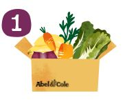 Organic food delivery. Organic vegetable boxes, fruit, meat & more | Abel & Cole