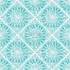 148611 chalk printed eco texture non woven wallpaper Tile effect Turquoise