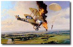 AVIATION ART HANGAR - Balloon Buster by Robert Taylor (Secondary)