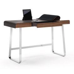Pastoe originals desk eb01 bureau modern bureaus en laptops - Moderne massieve bureau ...