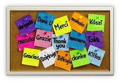 """""""Thank you"""" – two simple words with the power to change our entire outlook on life. Here are 10 great reasons why this phrase of gratitude belongs in the forefront of our daily interactions in every season. Different Languages, Thinking Day, Second Language, Foreign Language, Language School, French Language, Language Classes, Sign Language, Employee Appreciation"""