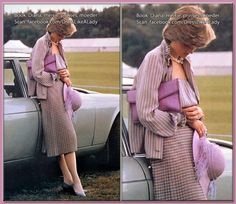 June 16, 1981: Lady Diana Spencer at Guards Polo Club in Windsor, Berkshire, England.