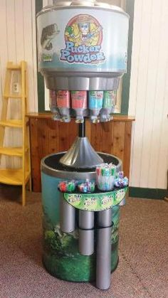 #Pucker #Powder Machine at Spirit Lake Inn!  Think- Build your own Pixie Sticks kicked up a notch.... #DotheLake #LakeMilleLacs