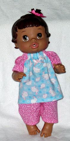 Baby Alive Corolle Tidoo Doll Clothes Adorable Sleeping