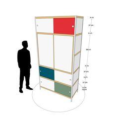 Kewlox (self-designed wardrobe)