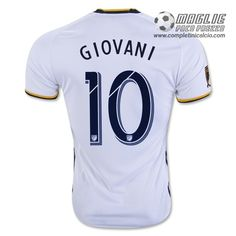 545476c22 adidas Kids LA Galaxy Giovanni Home Jersey White