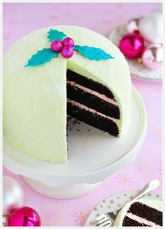 Peppermint Cake