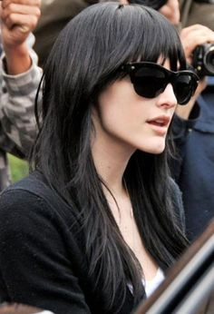 Black Hair Styles With Bangs | Black Hairstyles Gallery by adele