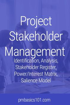 Project Management Requirements Template Stakeholder Management Plan ...