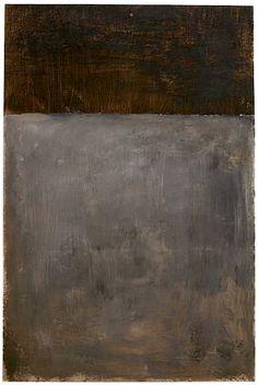 Mark Rothko, brown and grey