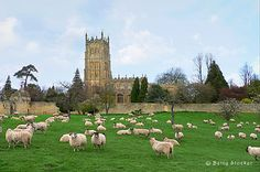 Chipping Campden, Cotswolds...the church and grounds were a gift from a local lord...he is entombed inside