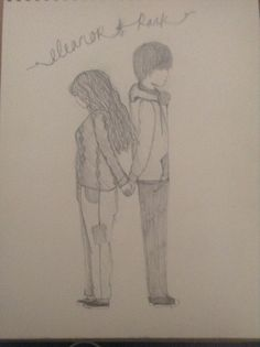 Eleanor and Park drawing Eleanor And Park, Just Giving, Make Me Smile, Drawings, Books, Art, Libros, Drawing Drawing, Art Background