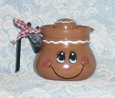 Gingerbread Coffee Pot