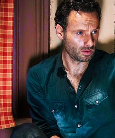 Andrew Lincoln- There should be a law against being THIS ridiculously good looking hahahaha